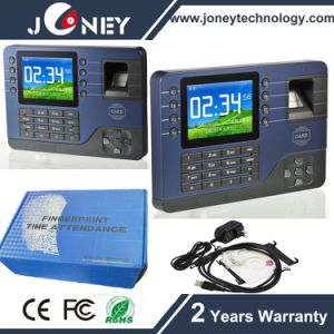 "Realand 3.2"" Color TFT Fingerprint Attendance Biometric Time Recording Machine pictures & photos"
