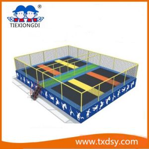 China Used Commercial Indoor Kids Small Trampoline pictures & photos
