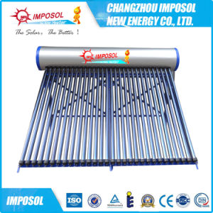 Non-Pressurized Solar Water Heater with Glass Tube pictures & photos