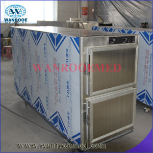 Mortuary Freezer Corpse Refrigerator for 2 Bodies pictures & photos