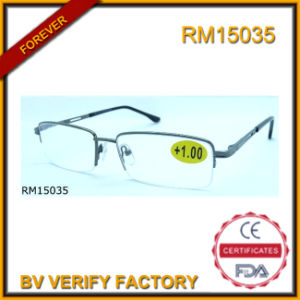 RM15035 Wholesale High Quality Half Frame Gafas De Lectura pictures & photos