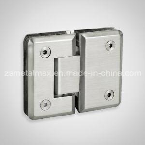 Brass 180 Degree Glass Clamp Shower Door Hinge (YH405) pictures & photos