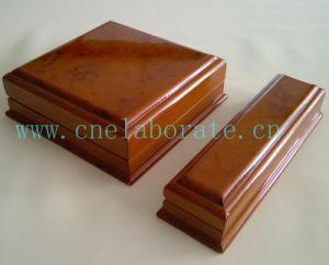 Customized Luxury Wedding Wood Ring Slot Box pictures & photos