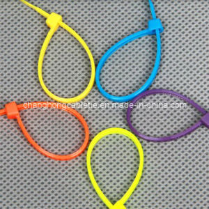 Cable Tie, Self-Locking, 7.5*370 (14 1/4 inch) pictures & photos