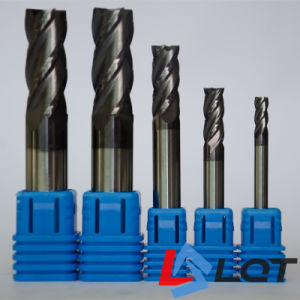 Tungsten Steel Carbide End Mill Machine Tools for HRC 55 Degree pictures & photos