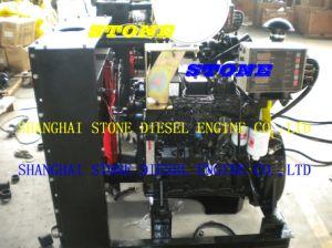 Cummins Diesel Engine 4bta3.9 With Radiator for Construciton pictures & photos