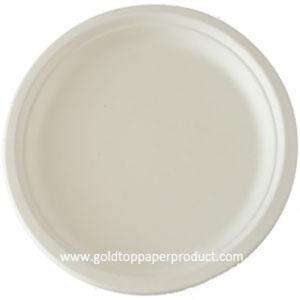 "White Paper Plates 18cm, 23cm and 26cm 7"" 9"" pictures & photos"