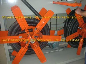 PE PP Corrugated Pipe Production Line pictures & photos