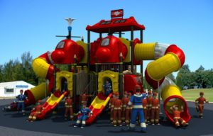 Hot Sale Huadong Outdoor Playground Slide Park Equipment pictures & photos