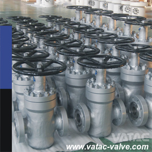 API 6D Ss316 A351 CF8m API 5# Double Wedged Dual Plate Slab Gate Valve pictures & photos