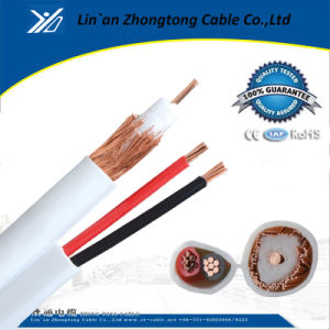 Rg59 Plenum Coax Cable 18/2 Power Wire
