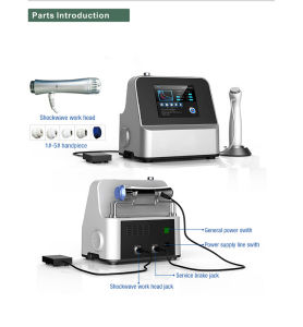 Sw8 Shock Wave Therapy Equipment for Pain Treatment pictures & photos