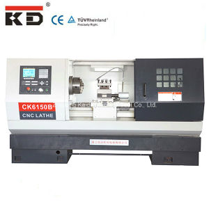 High Precision Flat Bed Servo Motor Metal CNC Lathe Machine Ck6156b pictures & photos