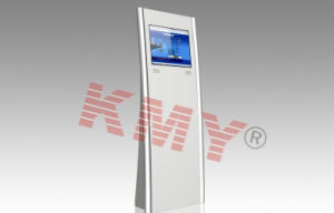 Information Check in Touch Screen Kiosk with Self-Service Terminal Machine pictures & photos