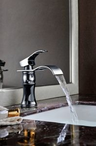 Chroming Color Bathroom Basin Faucet pictures & photos
