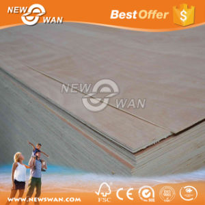 Flexible Poplar Plywood Door Skin Sized Plywood for Interior Door pictures & photos