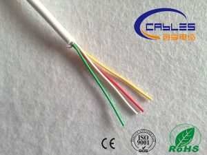 Popular Cable PVC Jacket 18AWG 4 Cores Unshielded Security Alarm Cable pictures & photos
