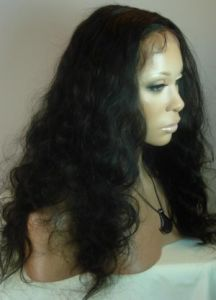 Body Wave Brazilian Virgin Human Hair Full Lace Wig pictures & photos