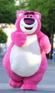 Famous Pink Bear Animal Mascot Costume pictures & photos