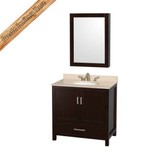 Fed-1908 Solid Wood Bath Cabinet, Bath Vanity Bathroom Cabinet pictures & photos