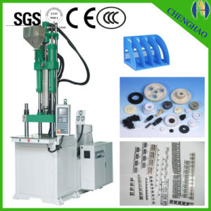 Small Pieces Plastic Products Making Machinery Vertical Injection Machine