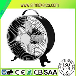 8 Inch Portable Small Table Alarm Clock Fan pictures & photos
