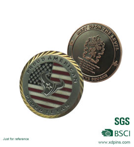 Die Casting Soft Enamel Souvenir Gold Coins pictures & photos