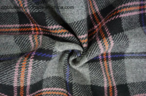 Plaid Wool Fabric with 4 Colors pictures & photos