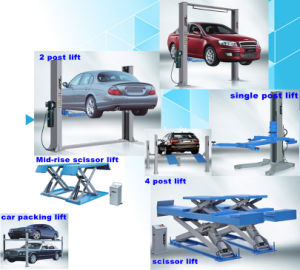 4 Post Car Lifter of Garage Equipment with Ce Ds-5043 pictures & photos
