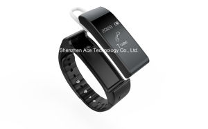 Wearable Smart Talking Bracelet with Earphone Bluetooth Connection