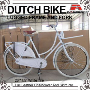 28 Inch Coaster Brake Leather Chaincover Dutch Bicycle (AYS-2802S) pictures & photos