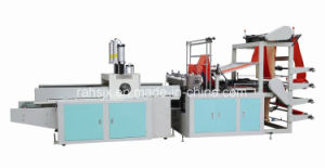 Automatic 4 Line Cold Cutting T-Shirt Bag Machine (HSLQ-1000) pictures & photos