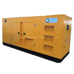 480kw 600kVA Soundproof Type Diesel Generator with Perkins 2806c-E18tag1a Engine