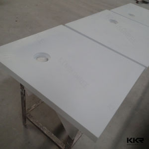 Deep Acrylic Solid Surface Stone Bathroom Shower Base (SB170904) pictures & photos
