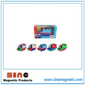 Alloy Return Magnetic Thomas Locomotive Toy with Light and Sound pictures & photos