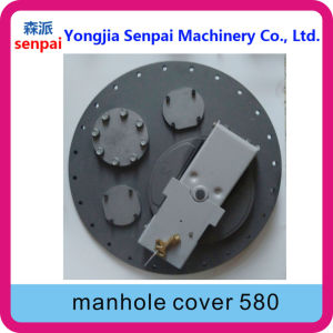 Senpai Machinery Tanker Accessory API 580mm 58cm Alloy Manhole Cover pictures & photos