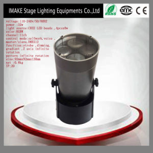 32W Mini LED 8 Gobo Moving Head Light for Music Event