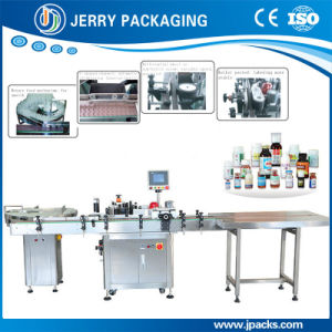 High Speed Medicine Food Small Bottle Sticker Label Labeling Machinery pictures & photos