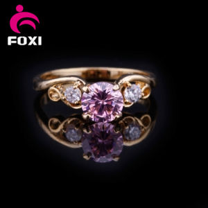 Fashion Design Gold Wedding Finger Ring pictures & photos