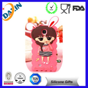 3D Cute Funny Mobile Animal Silicone Phone Case pictures & photos