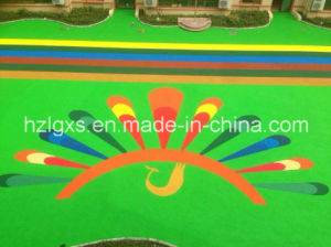 EPDM Granules Rubber Floor for Playground - 3 pictures & photos