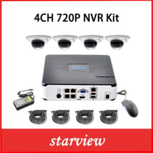 New 4CH H. 264 NVR 720p 960p 1080P IP Camera NVR Kits pictures & photos