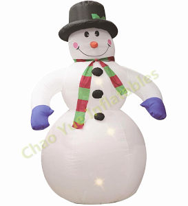 2015 New Inflatable Snowman for Christmas Decoration pictures & photos