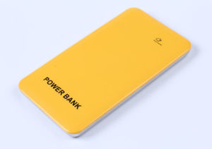 Factory Directly Metal Shell Smart Power Bank 4000mAh with Double USB Ports, Power Indicator pictures & photos