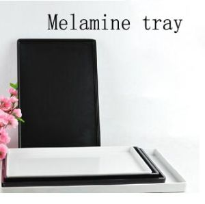 Hot Selling Melamine Tray for Hotel Guestroom (TP-807) pictures & photos