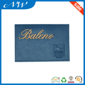 Embroidered Leather Patch From China Supplier pictures & photos