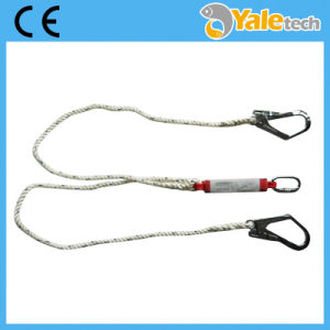 Safety Lanyard, Safety Rope Lanyard with Energy Absorber pictures & photos