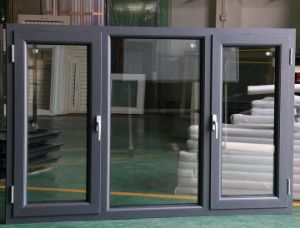 factory customized double glass aluminium alloy window wooden window frame - Double Glass Picture Frame