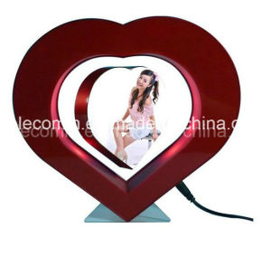 Super Quality Plastic Heart Shape Floating Photo Frame Decoration Wedding Gift Christmas Gift
