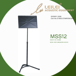 Tripod Base Music Sheet Stand (MSS12) pictures & photos